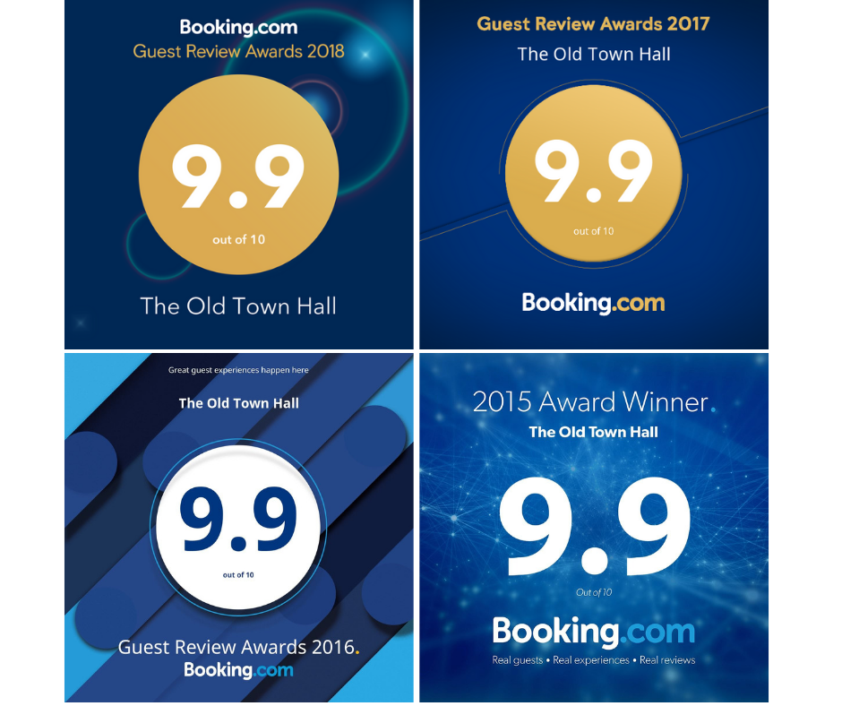 Guest Review Award 2018 4 years