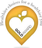 Healthier choices gold award