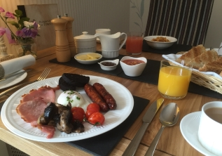 Award winning Dales breakfast