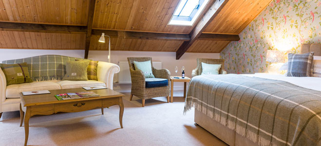 The Swaledale Room, accommodation at luxury Bed and Breakfast Yorkshire Dales