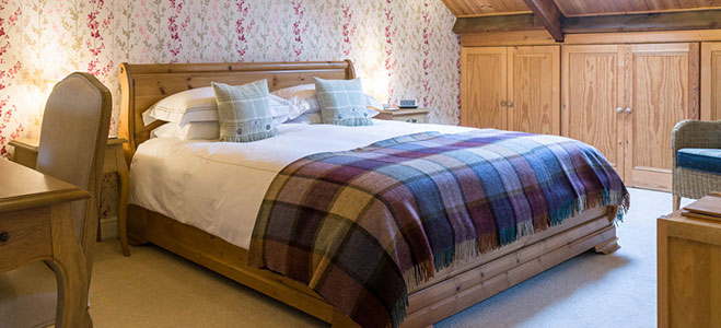 The Wensleydale Suite, romantic bed and breakfast accommodation with spa bath